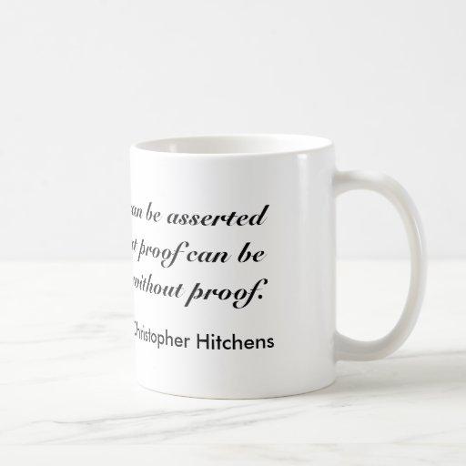 Christopher Hitchens Mug