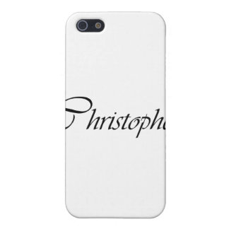Christopher iPhone 5/5S Cover