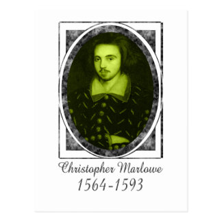 Christopher Marlowe Postcard