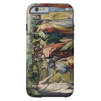 Christ's Charge to St. Peter (cartoon for the Sist Tough iPhone 6 Case