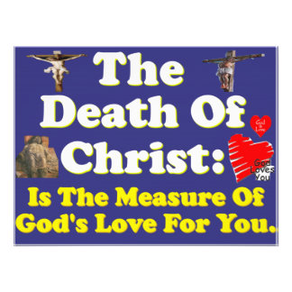 Christ's death: The measure of God's love for us! Art Photo