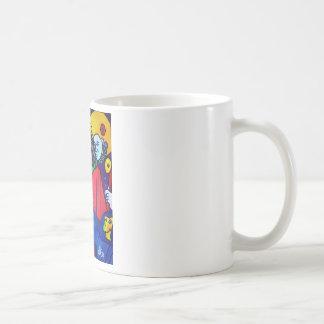Christ's Passion by Piliero Basic White Mug
