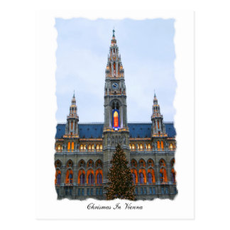 Chritsmas In Vienna Postcard