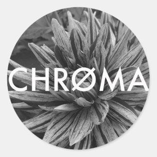 Chroma Creative flower Circle sticker