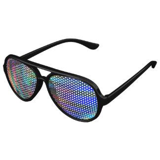Chroma Rays Aviator Sunglasses