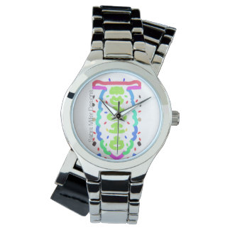 Chrome Bangle Watch Surprise