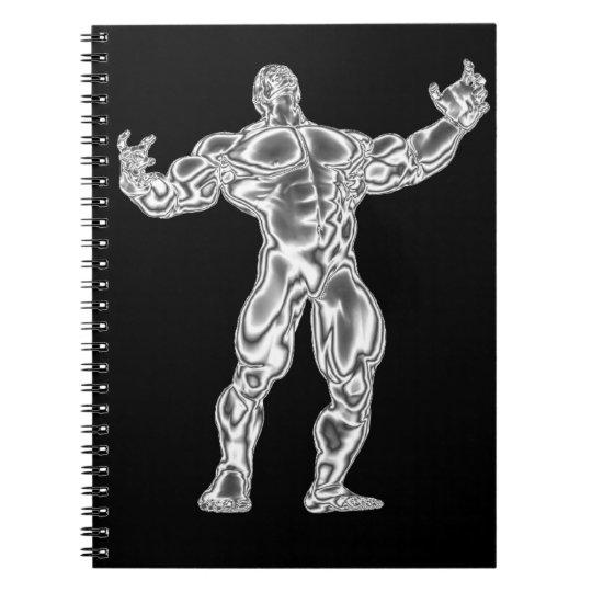 Chrome Bodybuilder Notebook