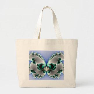 Chrome Butterfly Canvas Bag