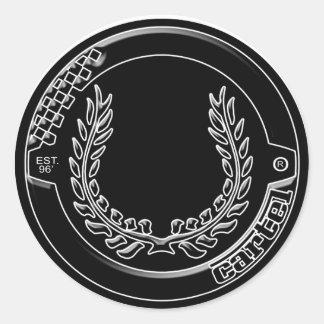 Chrome Cartel Logo sticker