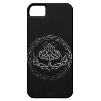 Chrome Celtic Knot Thistle iPhone 5 Case