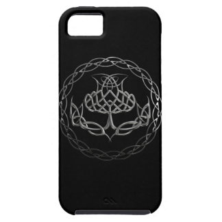 Chrome Celtic Knot Thistle iPhone 5 Cover