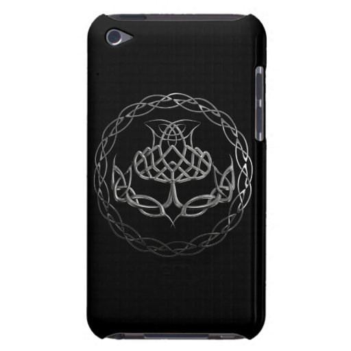the symbol of scotland the guardian thistle in a celtic knot design
