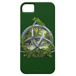 Chrome Celtic Trinity Knot Barely There iPhone 5 Case
