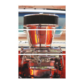 Chrome Engine Canvas Prints