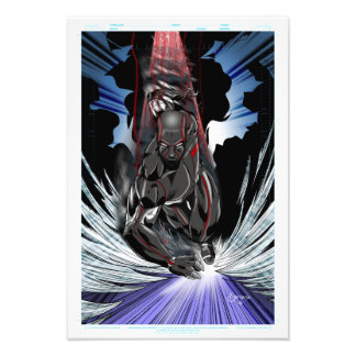 Chrome Epic Speed - 13in x 19in PRINT Photograph