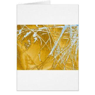 chrome fabric card