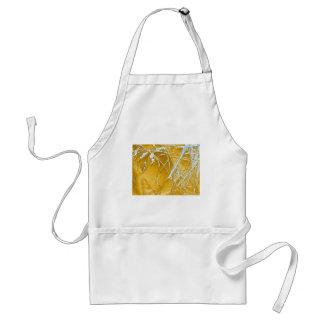 chrome fabric standard apron