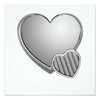 Chrome Hearts 13 Cm X 13 Cm Square Invitation Card