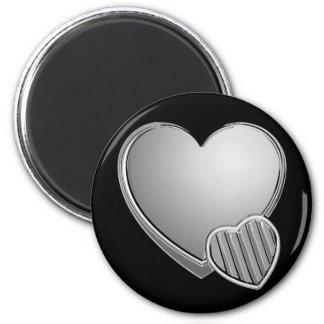 Chrome Hearts 6 Cm Round Magnet