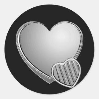 Chrome Hearts Round Sticker