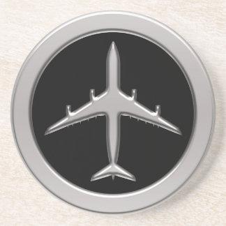 Chrome Jet Airplane Coaster