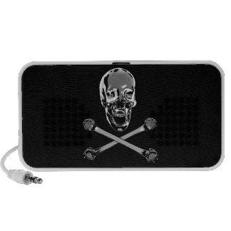 Chrome Jolly Roger Speaker