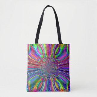 Chrome Laser Tote Bag