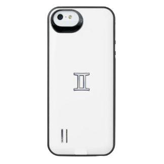 Chrome like Gemini Zodiac Sign on Hevelius iPhone 6 Plus Case