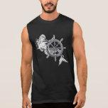 Chrome Mermaid Sleeveless Shirt
