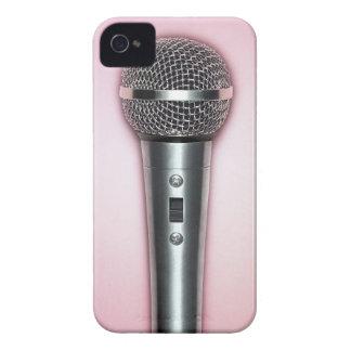 Chrome Microphone iPhone 4 Case