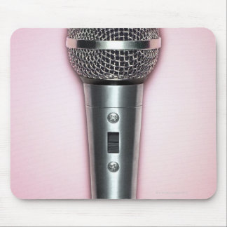 Chrome Microphone Mouse Mat