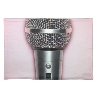 Chrome Microphone Placemat