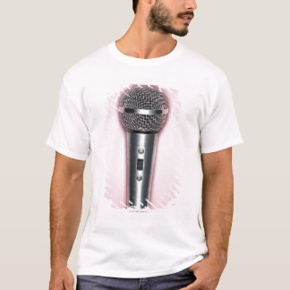 Chrome Microphone T-Shirt