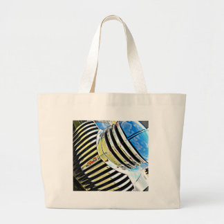 Chrome on the Chevy Jumbo Tote Bag