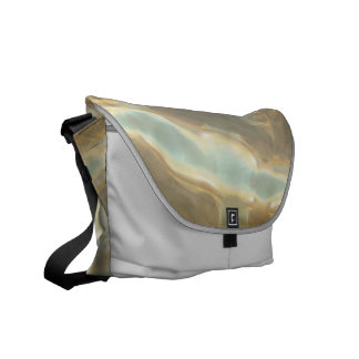 Chrome Pattern Rickshaw Messenger Bag