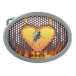 Chrome praying mantis design 2 with fire
