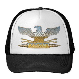 Chrome Roman Eagle Cap