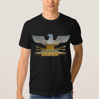 Chrome Roman Eagle Tees