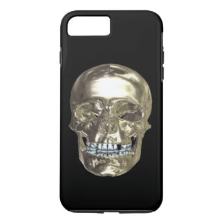 Chrome Skull iPhone 7 Case