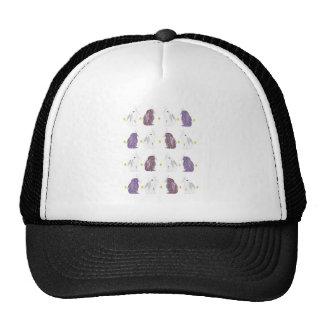 Chrome style rabbit pattern cap