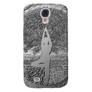 Chrome Tree of Life Yoga Galaxy S4 Case