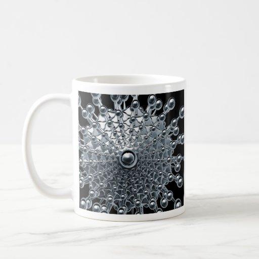 chrome ufo coffee mugs