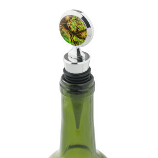 Chrome wine stopper