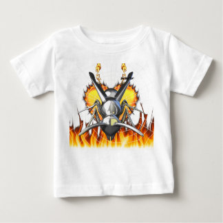 Chrome yellow jacket design 3 with fire and web.