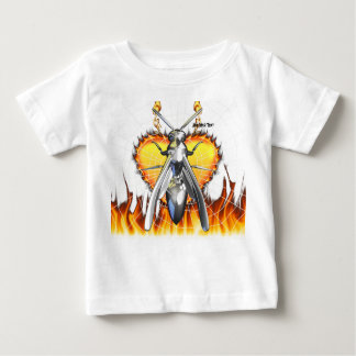 Chrome yellow jacket design 4 with fire and web.