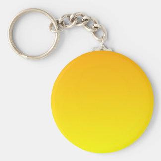 Chrome Yellow to Yellow Horizontal Gradient Key Chain