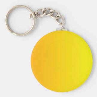 Chrome Yellow to Yellow Vertical Gradient Keychain