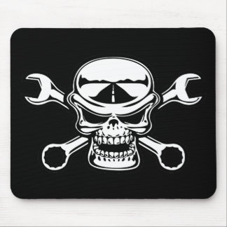 Chromeboy Cross-Wrenches Mouse Pad