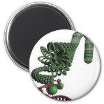 chromosoom koelkast magneet
