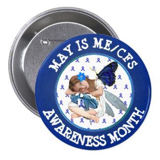 Chronic Fatigue Syndrome Awareness Button